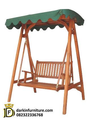 kursi ayunan kayu jati