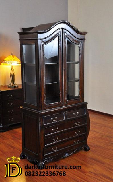 furniture lemari pajangan
