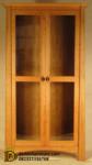 Lemari Rak Buku Minimalis 2 Pintu Kaca DFJ-999