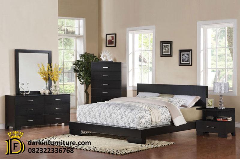 satu set kamar tidur minimalis