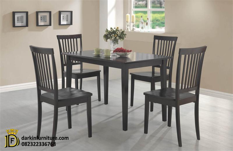 set meja makan 4 kursi