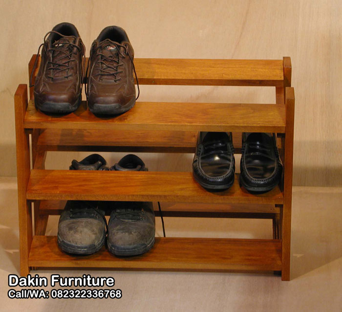 rak sepatu minimalis modern