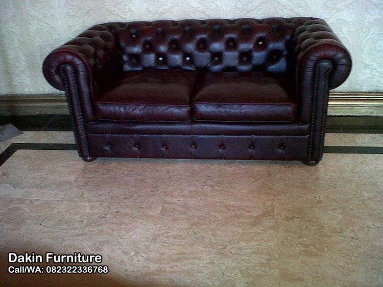 kursi sofa kayu
