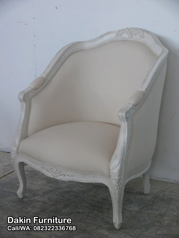 Kursi Sofa Single Ukir Jepara